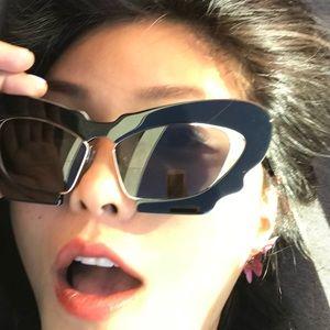 NEW LINDA🦋FARROW LUXE Butterfly Retro Sunglasses